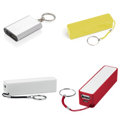 Powerbanks med nyckelring