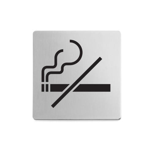 Informations skylt no smoking