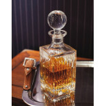 JFK Cut Crystal Decanters