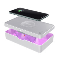 UV Cleanbox & QI Charging