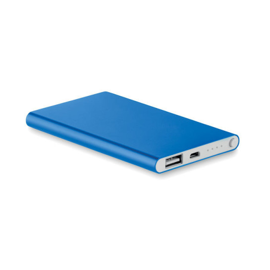 Power Bank 4000 Mah In Aluminium