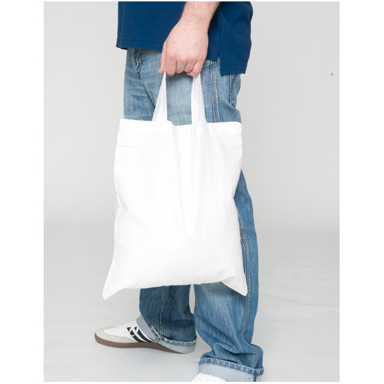 Cotton Bag, Short Handles PREMIUM