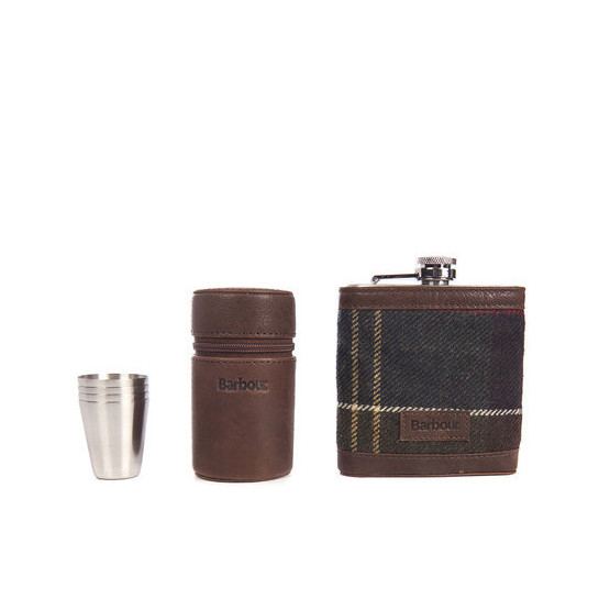 Hip Flask And Cups In Gift Box