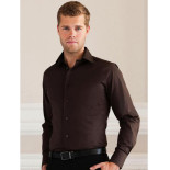 Russell Fitted Long Sleeve Stretch Shirt