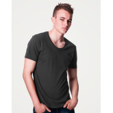 Men's / Unisex Scooped Neck T-shirt