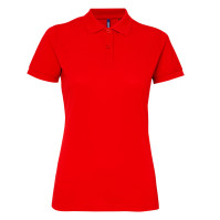 Enfärgade Women's classic fit performance blend polo