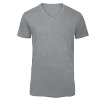 Mens V-neck Triblend