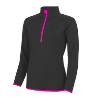 Girlie Cool 1/2 Zip Sweat