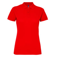 Womens classic fit performance blend polo