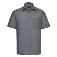 Men´s Short Sleeve Polycotton Easy Care Poplin Sh