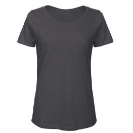 Women's 100% Slub Organic Cotton Tee