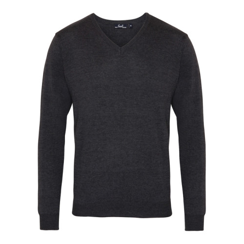 Men´s V-neck Knitted Sweater