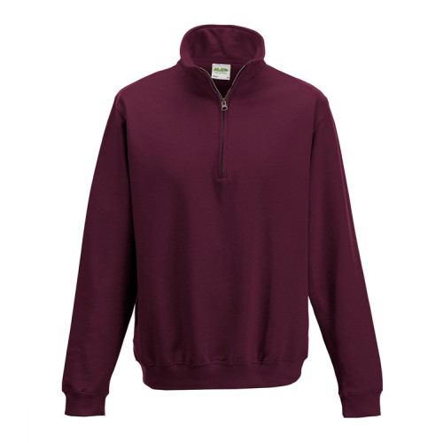 Zip Neck Sweatshirt