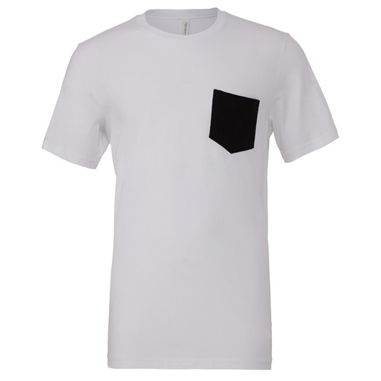 Men´s Jersey Short Sleeve pocket Tee