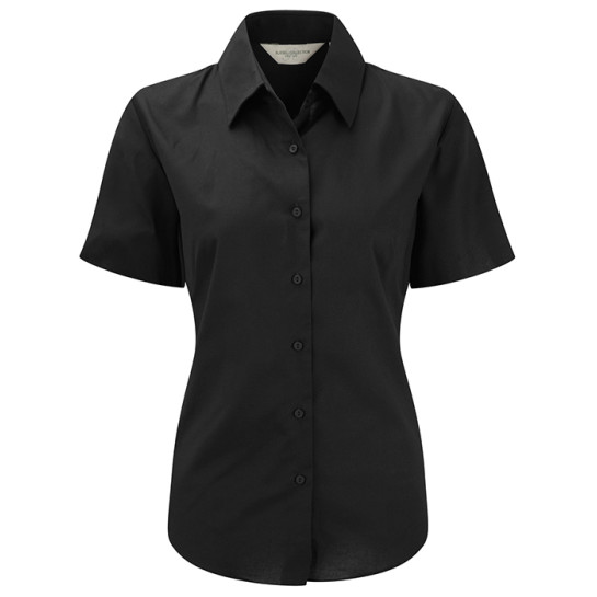 Ladies´ Short Sleeve Easy Care Oxford Shirt