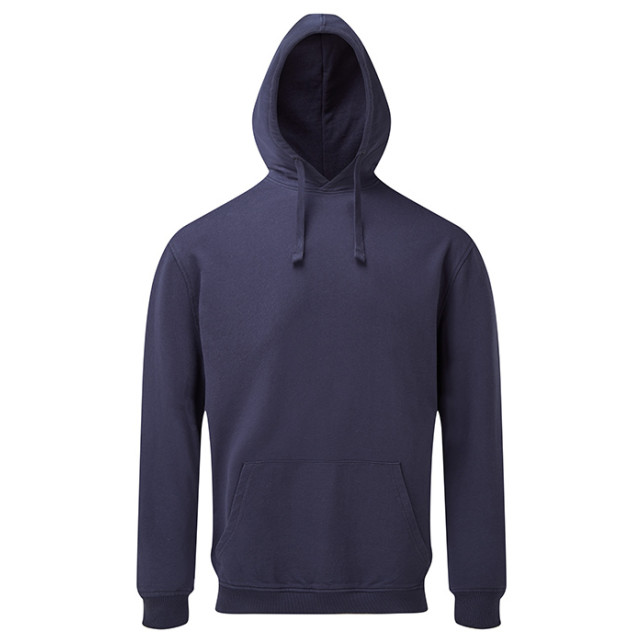 Mens Coastal Vintage Wash Loop Back Hoodie