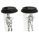 2-pack Muggar His & Her