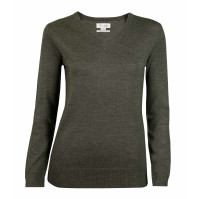 Lady Merino Wool V-Neck