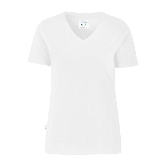 V-neck Slim fit Lady (GOTS)