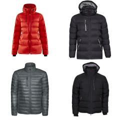 Rainier primaloft jakke fra Cutter & Buck superlett og varm