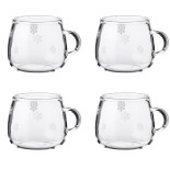 Fager Glasmugg, 4-pack