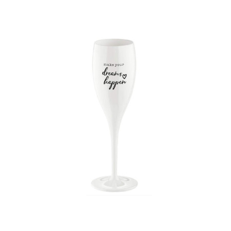 CHEERS NO.1 Champagneglas med print, 6-pack
