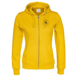 Skoltröja Cottover Full Zip Hood Lady
