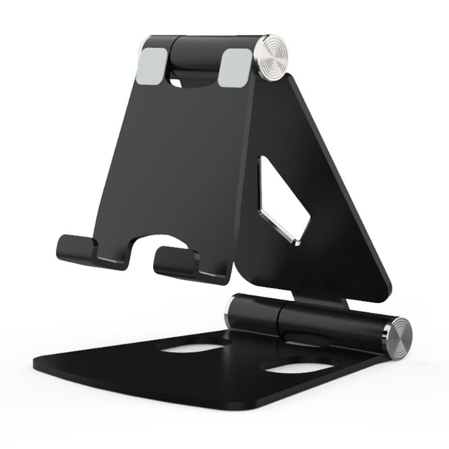 Foldable smartphone stand black