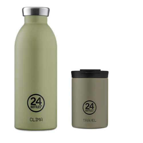Sett med Clima bottle 0,5 og Travel kopp 2go
