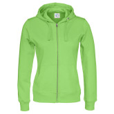 Full Zip Hood Lady (gots)
