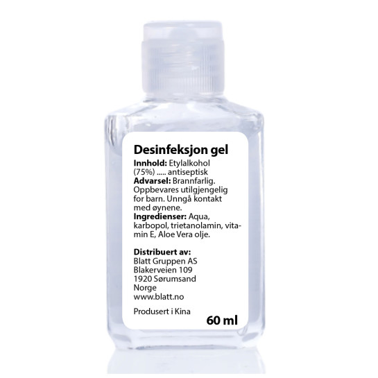 Desinfeksjon gel 60ml