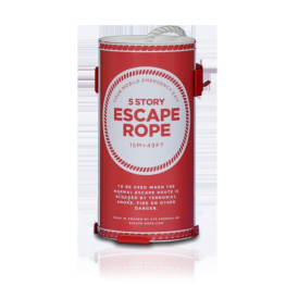 Räddningslina Escape Rope Tub 15 m
