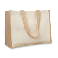 Campo De Fiori - Shoppingkasse i jute/canvas