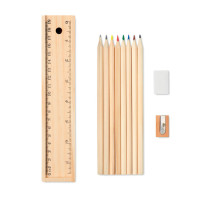 Todo Set - Stationery set in wooden box