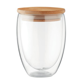 Tirana Medium - Glas/Mugg dubbelvägg 350ml