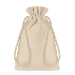 Taske Small - Small Cotton draw cord bag