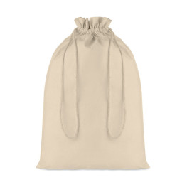 Taske Large - Large Cotton draw cord bag