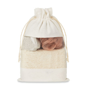 Cuida Set - Bath set in cotton pouch