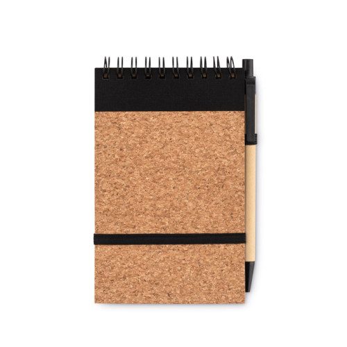 Sonoracork - A6 cork notebook with pen