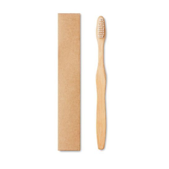 Dentobrush - Bamboo toothbrush in Kraft box