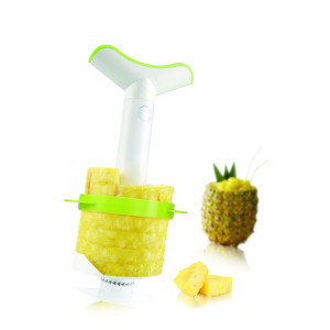 Pineapple slicer & wedger  j-hook