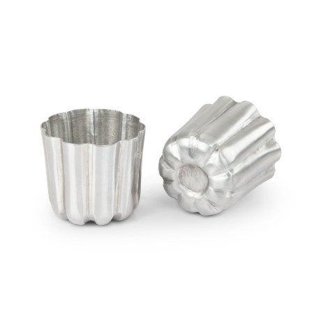 Form canelé tina, 2-pack