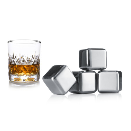 Whiskey stenar set/4 vacuvin