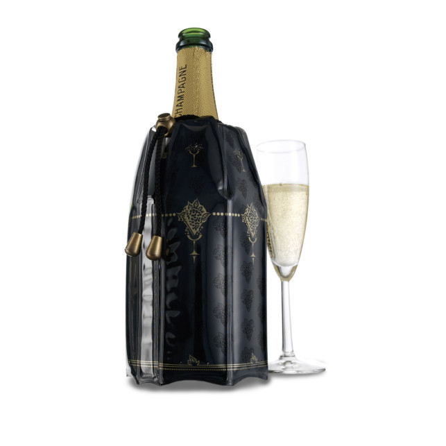 Active champagne cooler vacuvin