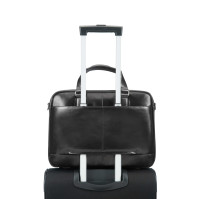 Samsonite West Harbor laptopbag. 14 tommer. Svart