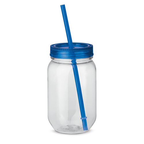 STRAW. Kopp med sugrör 550 ml