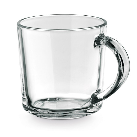 SOFFY. Glas mugg 280 ml