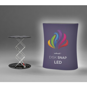 Disk Snap LED automatisk