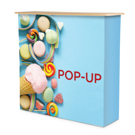 Disk Pop-up tyg