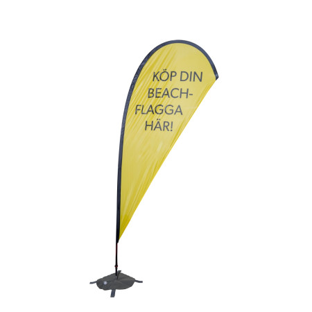 Beachflagga Droppen